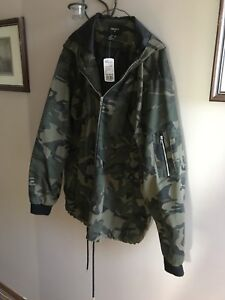 Forever 21 Camo spring jacket, new with tags on, XL