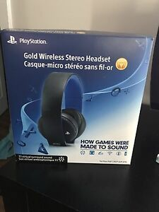 PS Gold Headset