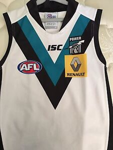 Port Adelaide Power lot! Guernsey M. power jacket L (see images) Ridgehaven Tea Tree Gully Area Preview