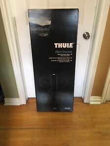 THULE 2 Bike Stacker Great to Store Bikes for Winter