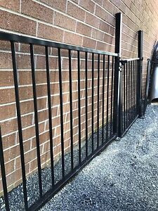 Black alluminium pool fence/ other Shortland Newcastle Area Preview