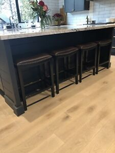 Four like new counter stools