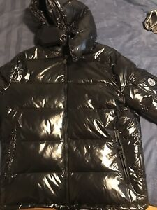 Authentic Black Maya Moncler Down Jacket