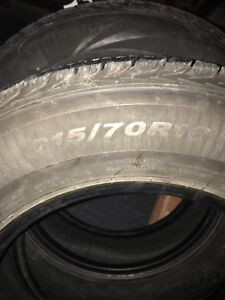 Winters tires 215 70 r16