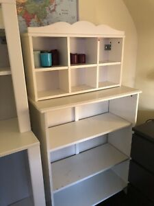 IKEA Henvsik White Bookshelves
