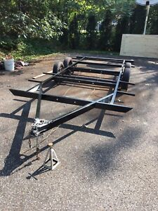 18' trailer - perfect size for tiny house