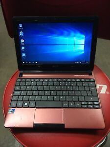 Acer Aspire one d245 notebook. 1TB hhd 2gb Ram windows 10