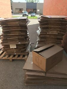 FREE BOXES— Over 200 moving boxes or clean storage boxes