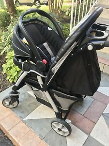 Graco click connect 35 stroller and infant car seat system