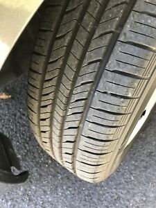 2weeks old summer tires only used 300kms
