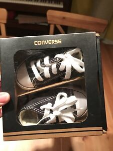 Converse baby sneakers size 2 US