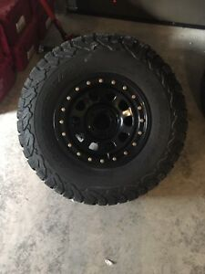 2 month Old Rims and Tires 1500 obo