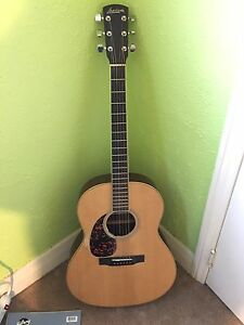 Acoustic electric guitar left handed Larrivee Model L 0 3 R