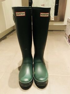 Authentic womens Hunter Boots