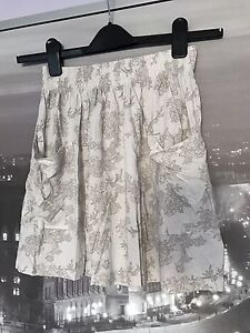 Talula floral/Lace print skirt