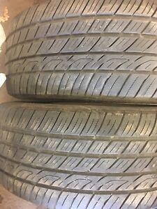 2 pneus d été toyo p215/50r17