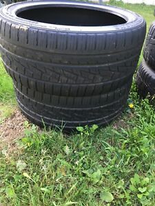 Two tires