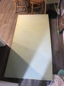 Memory foam mattress topper (Twin XL)