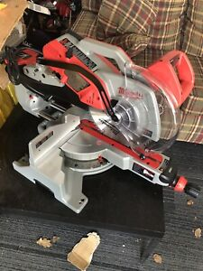 "Milwaukee 12"" Dual bevel miter saw & Stand"