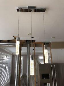 Modern LED light fixture
