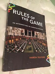 Rules of the game. An introduction to Canadian politics
