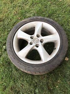 215/r50/17 tires and aluminium rims