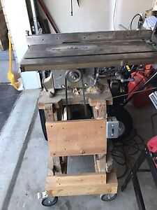 "Delta (The Gray Line) 8"" tilting Table saw. 1940's"