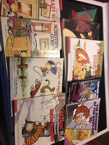 Lot of Calvin and Hobbes