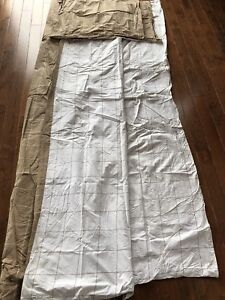 Queen - Brown and Ivory Sheet Set and Duvet Cover