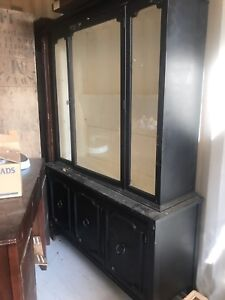 Antique-style China Cabinet