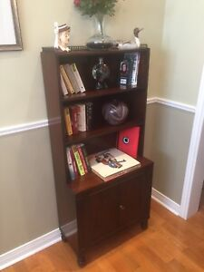 Antique Bookcase / Display Cabinet- Mahogany Beauty