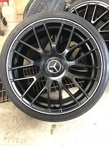 "19"" Mercedes tires and rims 5x112"