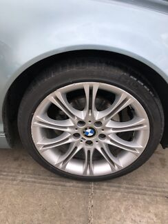 Bmw msport wheels. Series 3. FRONTS only. Caringbah Sutherland Area Preview