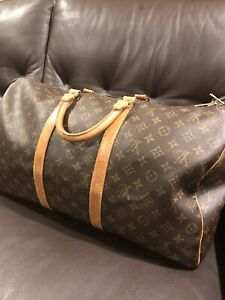 Authentic Louis Vuitton Keep All luggage in great condition