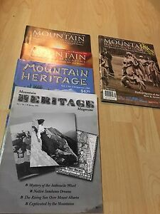 Mountain Heritage Magazine from 1998