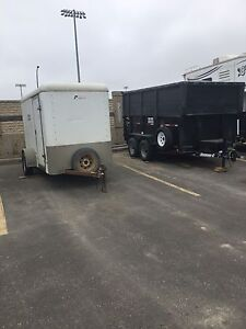 Cargo trailers for rwnt