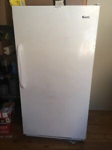 Wood upright freezer for sale
