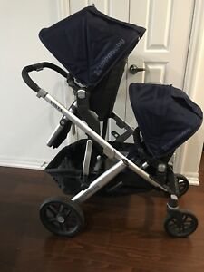 Double/Twin UPPAbaby Vista stroller w/accessories