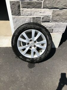 Mazda 3 alloy rims and tires