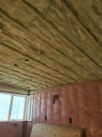Insulation, spray foam & drywall call 403-401-2496