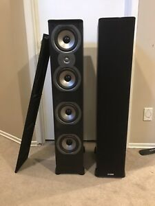 Polk Audio speakers (pair)