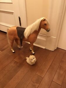 American Girl Horse and Dog