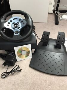 Nextech Force Feed Steering Wheel & Pedals