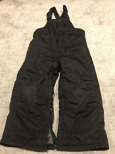 Black snow pants - Toddler 3T