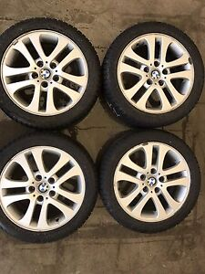 BMW Winter Rims/Tires ALMOST NEW