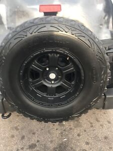 Used mud tire