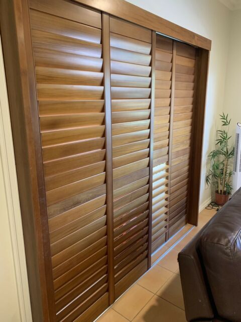 Timber plantation shutters | Curtains & Blinds | Gumtree ...
