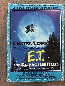 ET movie O-PEE-CHEE complete card collection