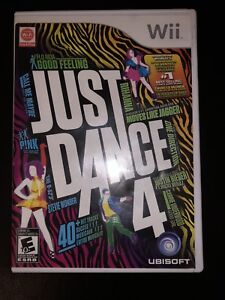 Wii Just Dance 4 game
