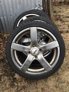 Mags and tires 205/40R17  NEGO